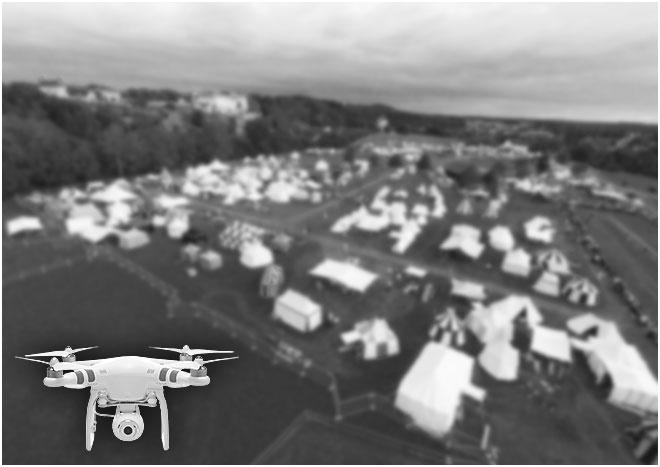 Burgfest Burghausen 2014 - Luftaufnahme