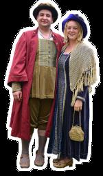 Der Bürgermeister und seine Frau