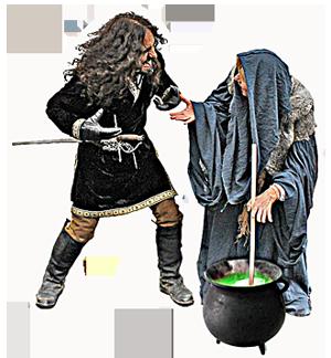 Der Vogt und die Hexe